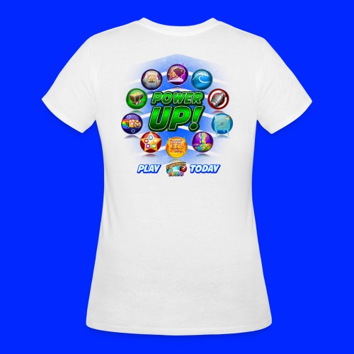 Vintage Cannonball Bingo Power-Up Tee - Women's 50/50 T-Shirt
