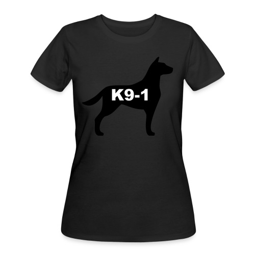 k9-1 Logo Large - Women's 50/50 T-Shirt