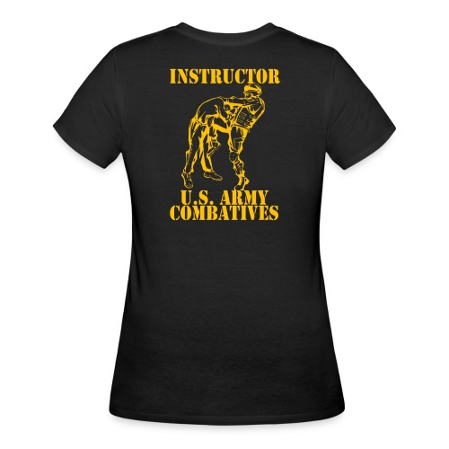 Army Combatives Knee Instructor Gold - Women's 50/50 T-Shirt