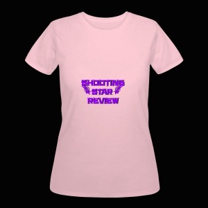 Shooting Star Review Purple Logo - Women's 50/50 T-Shirt