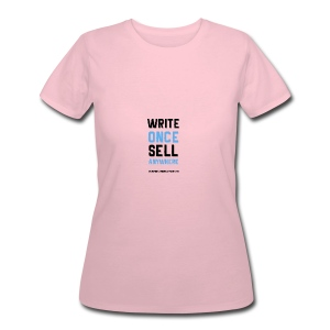 Write Once Sell Anywhere - Women's 50/50 T-Shirt