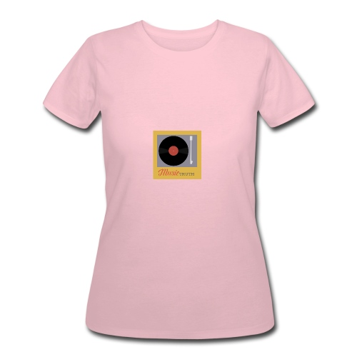 Music Truth Retro Record Label - Women's 50/50 T-Shirt