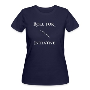Roll For Initiative - Bow - Women's 50/50 T-Shirt