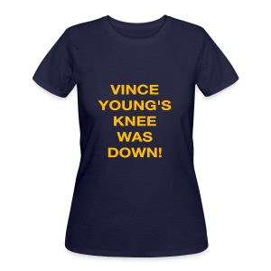 Vince Young's Knee Was Down - Women's 50/50 T-Shirt