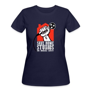 Save Home Studios In Music City - Women's 50/50 T-Shirt