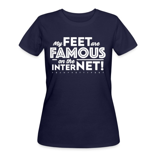 My Feet Are Famous On The Internet! - Women's 50/50 T-Shirt