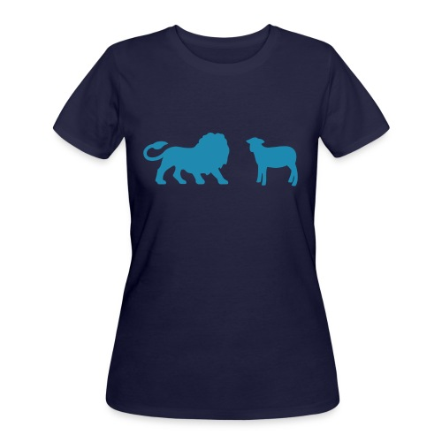Lion and the Lamb - Women's 50/50 T-Shirt