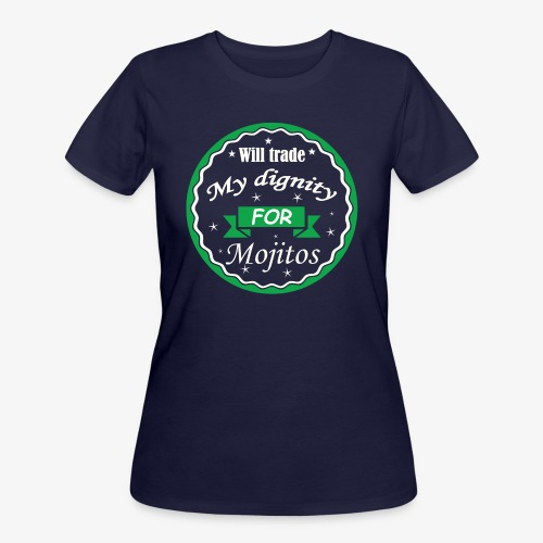 Trade dignity for mojitos - Women's 50/50 T-Shirt