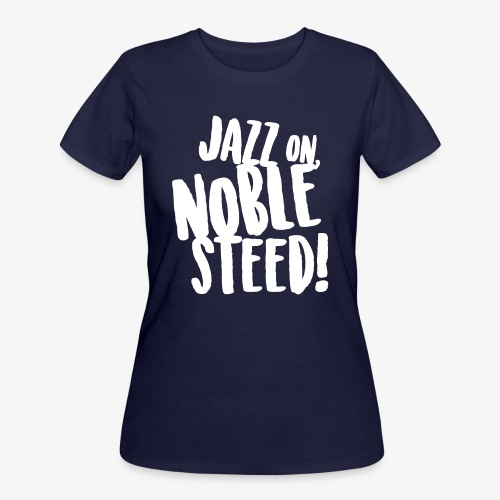 MSS Jazz on Noble Steed - Women's 50/50 T-Shirt