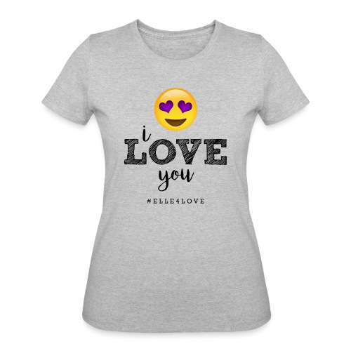 I LOVE you - Women's 50/50 T-Shirt