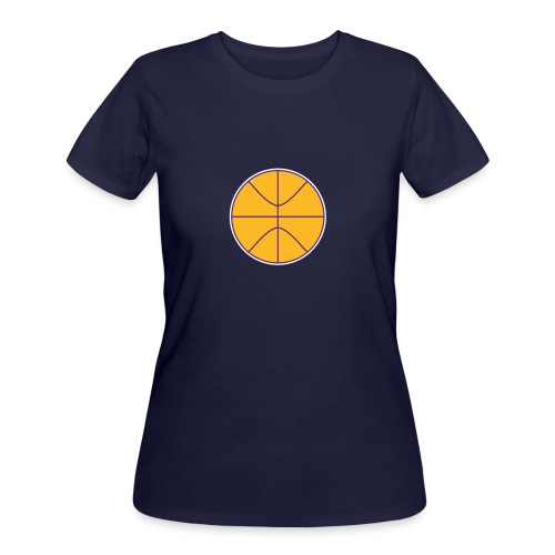 Basketball purple and gold - Women's 50/50 T-Shirt