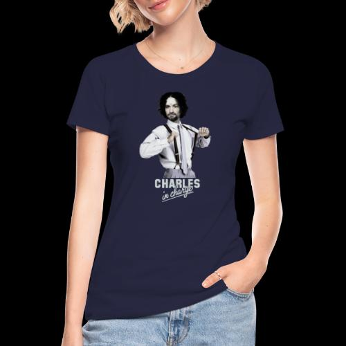 CHARLEY IN CHARGE - Women's 50/50 T-Shirt