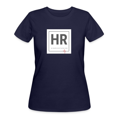 HR - HighRiskFashion Logo Shirt - Women's 50/50 T-Shirt