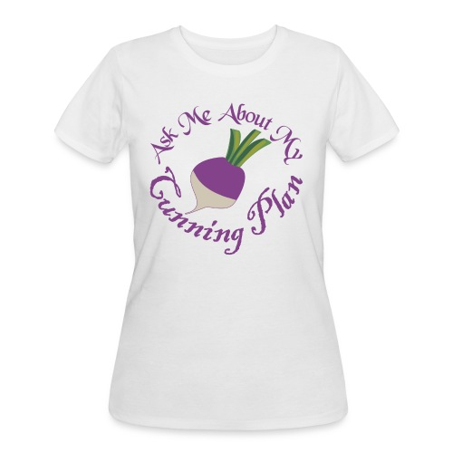 Ask Me About My Cunning Plan - Women's 50/50 T-Shirt