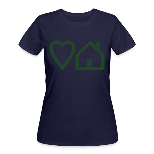 ts-3-love-house-music - Women's 50/50 T-Shirt