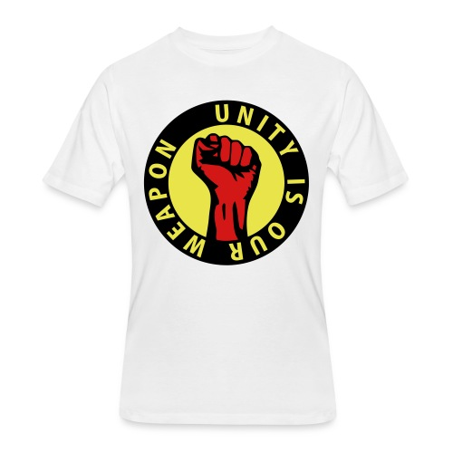 Unity is our weapon - Men's 50/50 T-Shirt