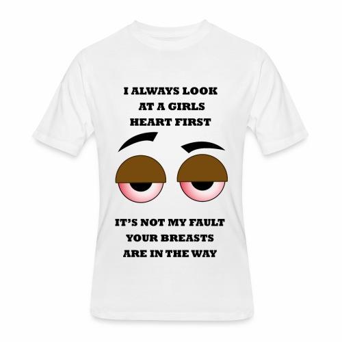 Not My Fault - Men's 50/50 T-Shirt
