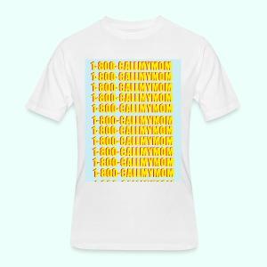 1-800-CALLMYMOM - Men's 50/50 T-Shirt