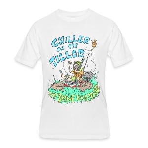Chiller On the Tiller - Men's 50/50 T-Shirt