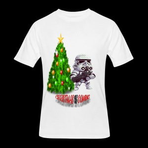 StarWars #ChristmasIsComing - Men's 50/50 T-Shirt
