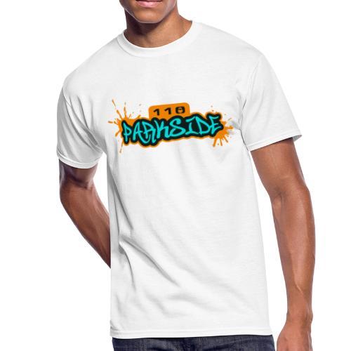 110 Parkside Logo - Men's 50/50 T-Shirt