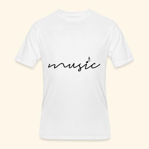 music tee - Men's 50/50 T-Shirt