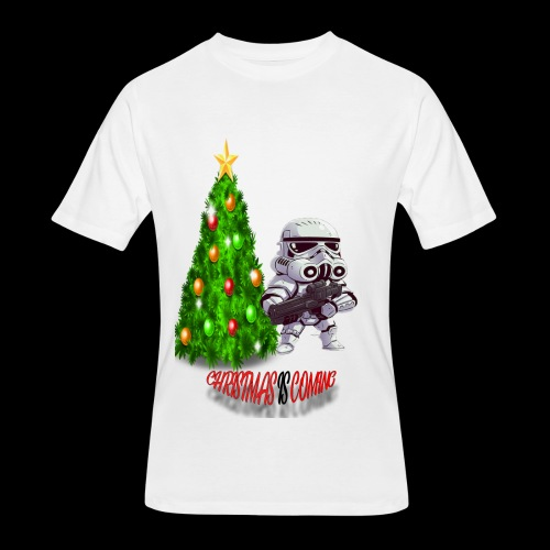 StarWars #ChristmasIsComing - Men's 50/50 T-Shirt