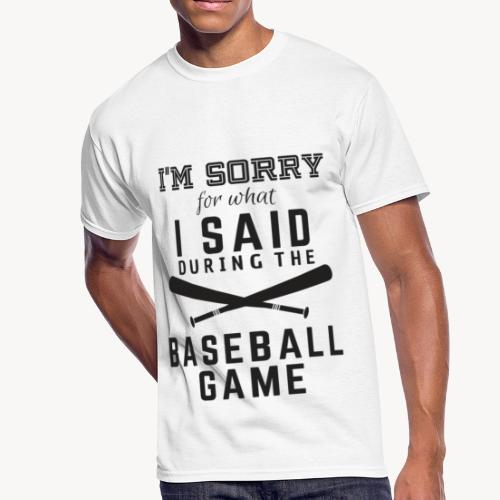 Sorry Not Sorry - Men's 50/50 T-Shirt