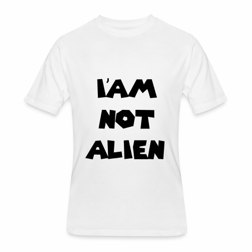 I'AM NOT ALIEN DEGSIN - Men's 50/50 T-Shirt
