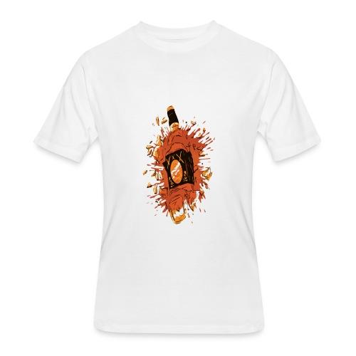 Broken Liquor Bottle - Men's 50/50 T-Shirt