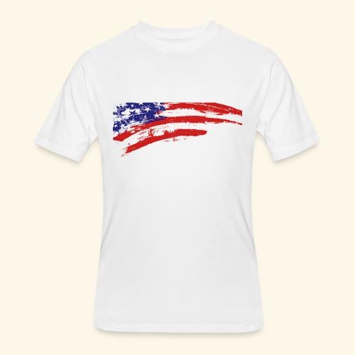 American flag shirt - Men's 50/50 T-Shirt