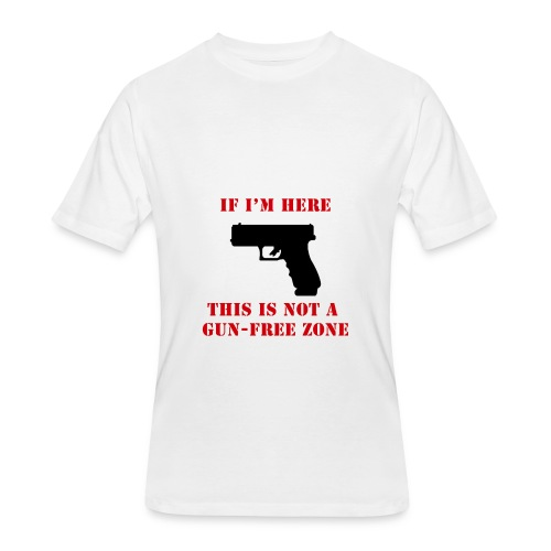 GunFreeZone - Men's 50/50 T-Shirt