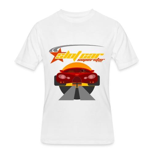 Slot Car Superstar T-Shirt 1 - Men's 50/50 T-Shirt