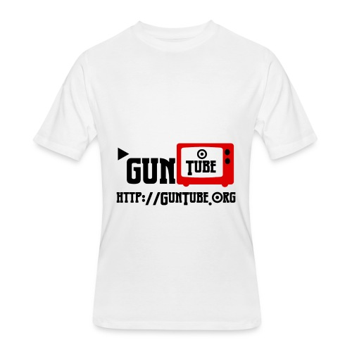 GunTube Shirt with URL - Men's 50/50 T-Shirt