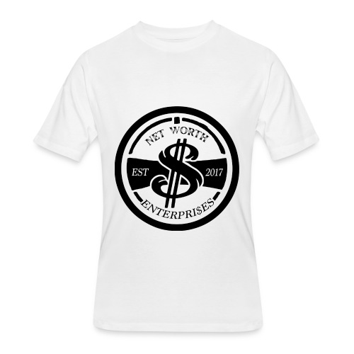 Net Worth Emblem - Men's 50/50 T-Shirt