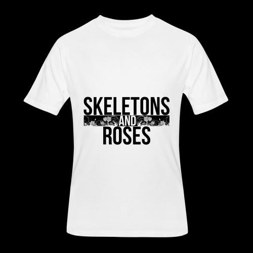 Skeletons And Roses Logo 2 - Men's 50/50 T-Shirt
