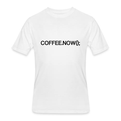 Coffee.now() - Men's 50/50 T-Shirt