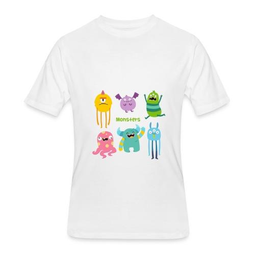 The monsters full colour - Men's 50/50 T-Shirt