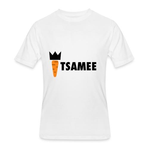 ITSAMEE LOGO BLACK - Men's 50/50 T-Shirt