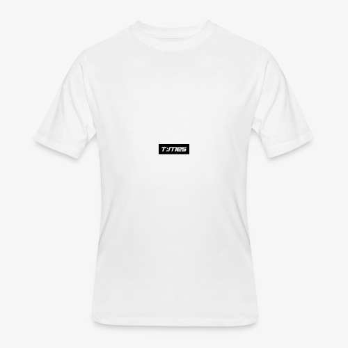 Times Supply - T-Shirt, White, Male - Men's 50/50 T-Shirt