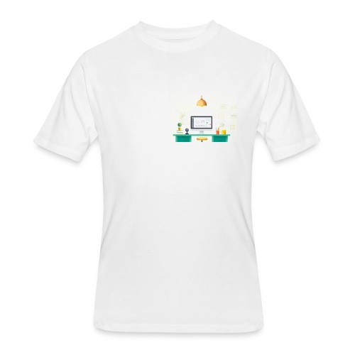 workspace - Men's 50/50 T-Shirt