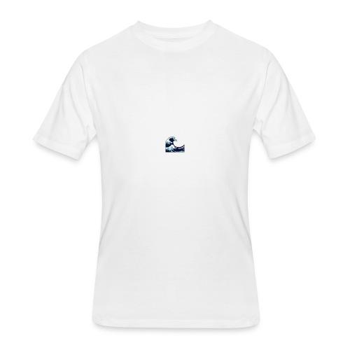 Wave - Men's 50/50 T-Shirt