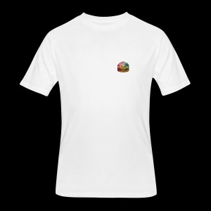 BURGER SWIRL - Men's 50/50 T-Shirt