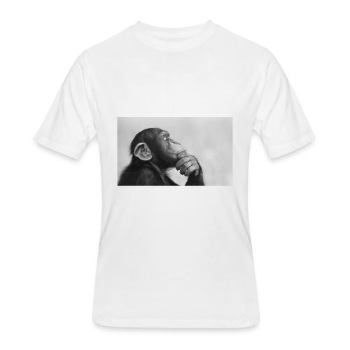thinking - Men's 50/50 T-Shirt
