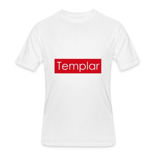 Red bar Templar - Men's 50/50 T-Shirt