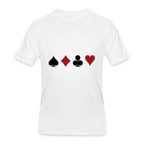 cartes 159600 1280 - T-shirt 50/50 pour hommes