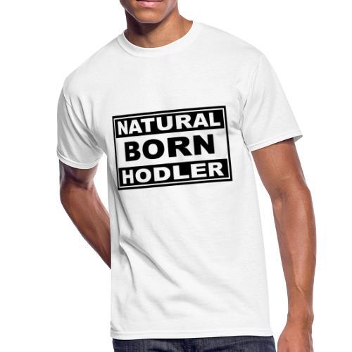 Natural Born Hodler - Men's 50/50 T-Shirt
