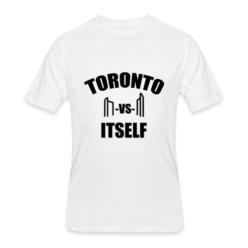 6 Versus 6 - Men's 50/50 T-Shirt