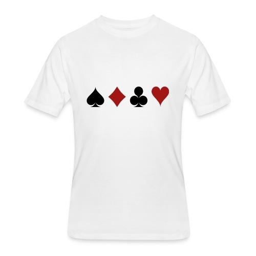 cards 159600 1280 - Men's 50/50 T-Shirt