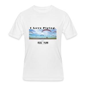i love flying1 - Men's 50/50 T-Shirt